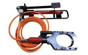 Zestaw INK-120B do przecinania kabli mogących być pod napięciem